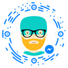 chatbot, conversational agent, chatterbot, virtual agent Robbie