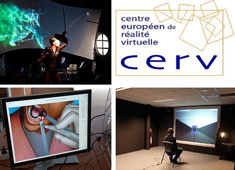 CERV - real-time animation of virtual characters