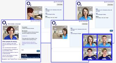 O2 Live Chat Handover