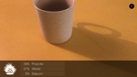 Chatbot recognizing mug
