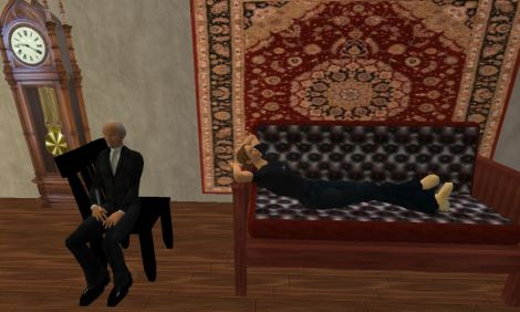 Conversational agent simulates psychologist Sigmund Freud in Second Life