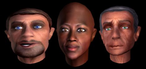 Virtual Humans online