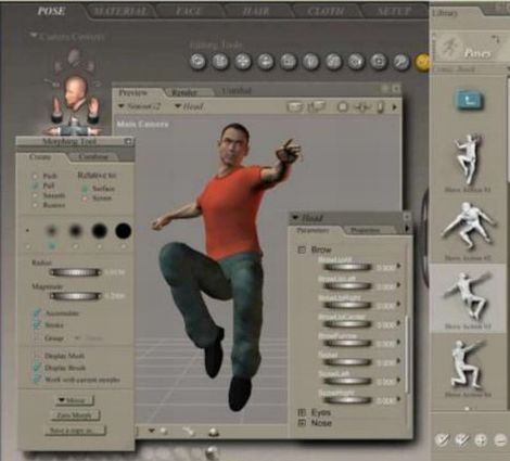 Virtual Person creation example