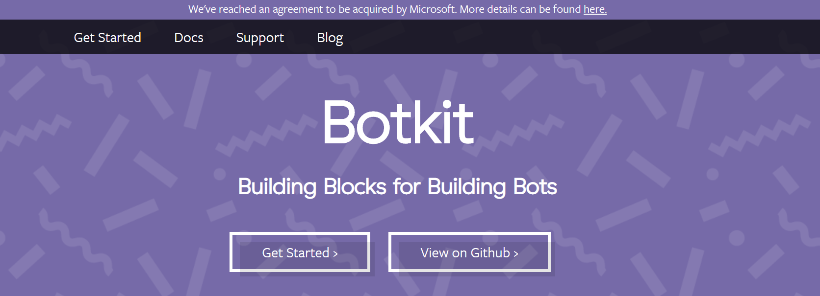 best chatbot builders - Botkit