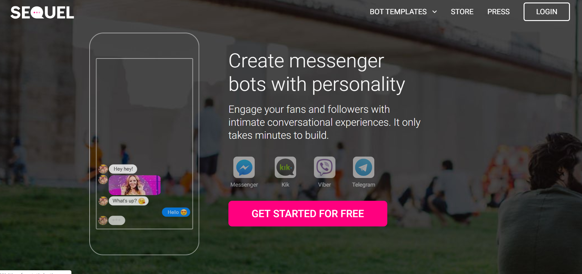 best chatbots for marketing - Sequel