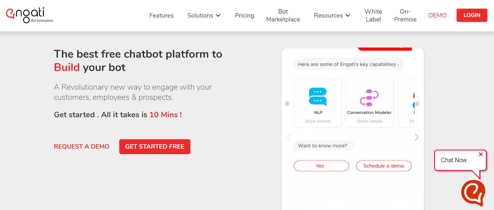best customer service chatbot - Engati