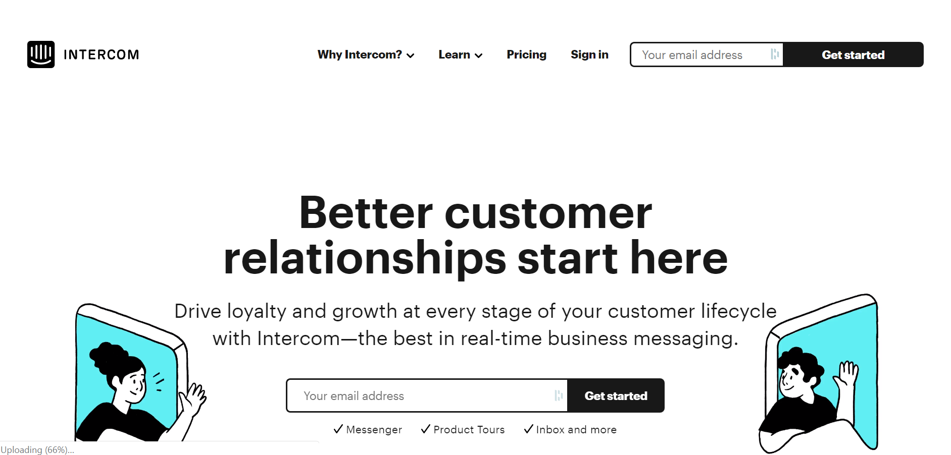 best customer service chatbot - Intercom