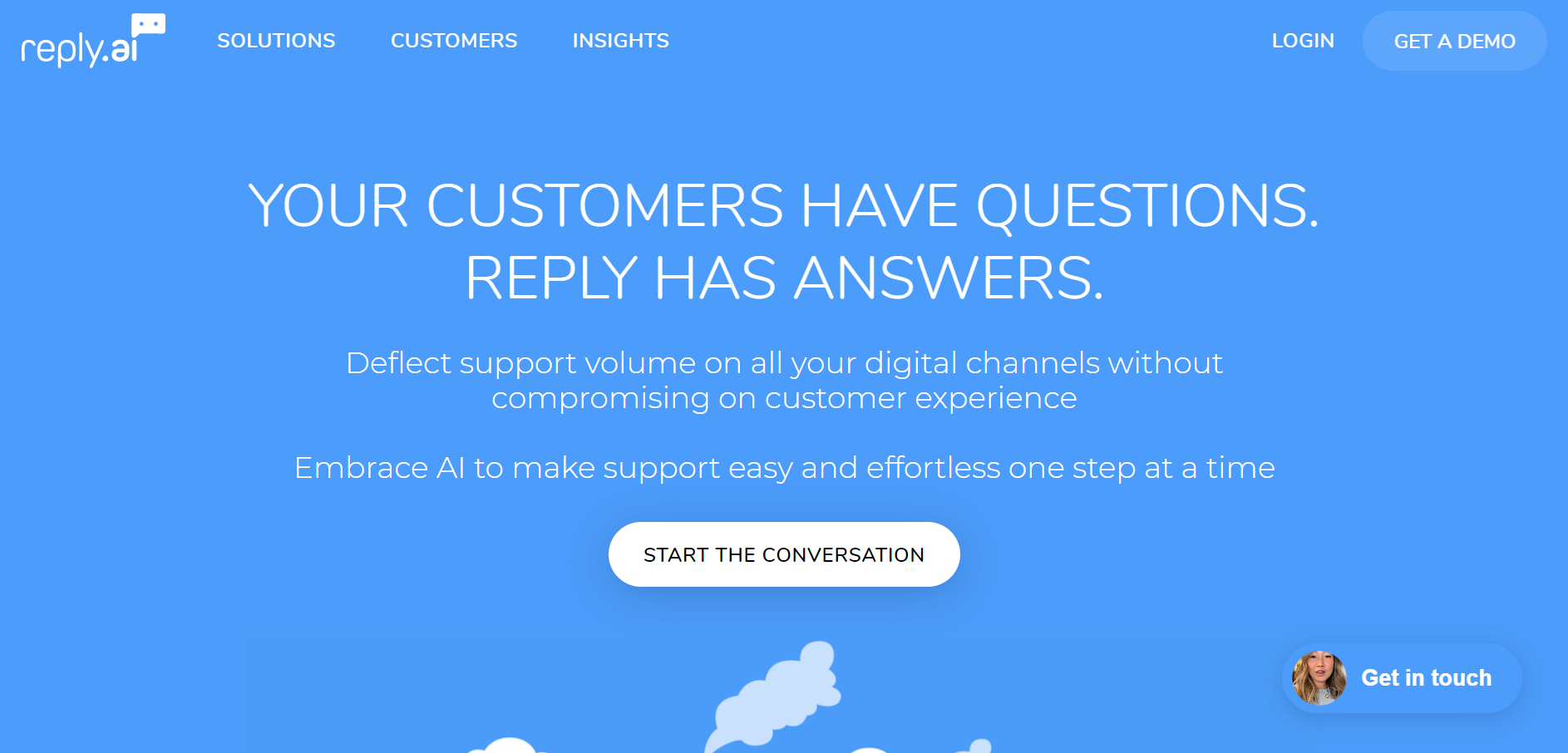 best customer service chatbot - Reply.ai