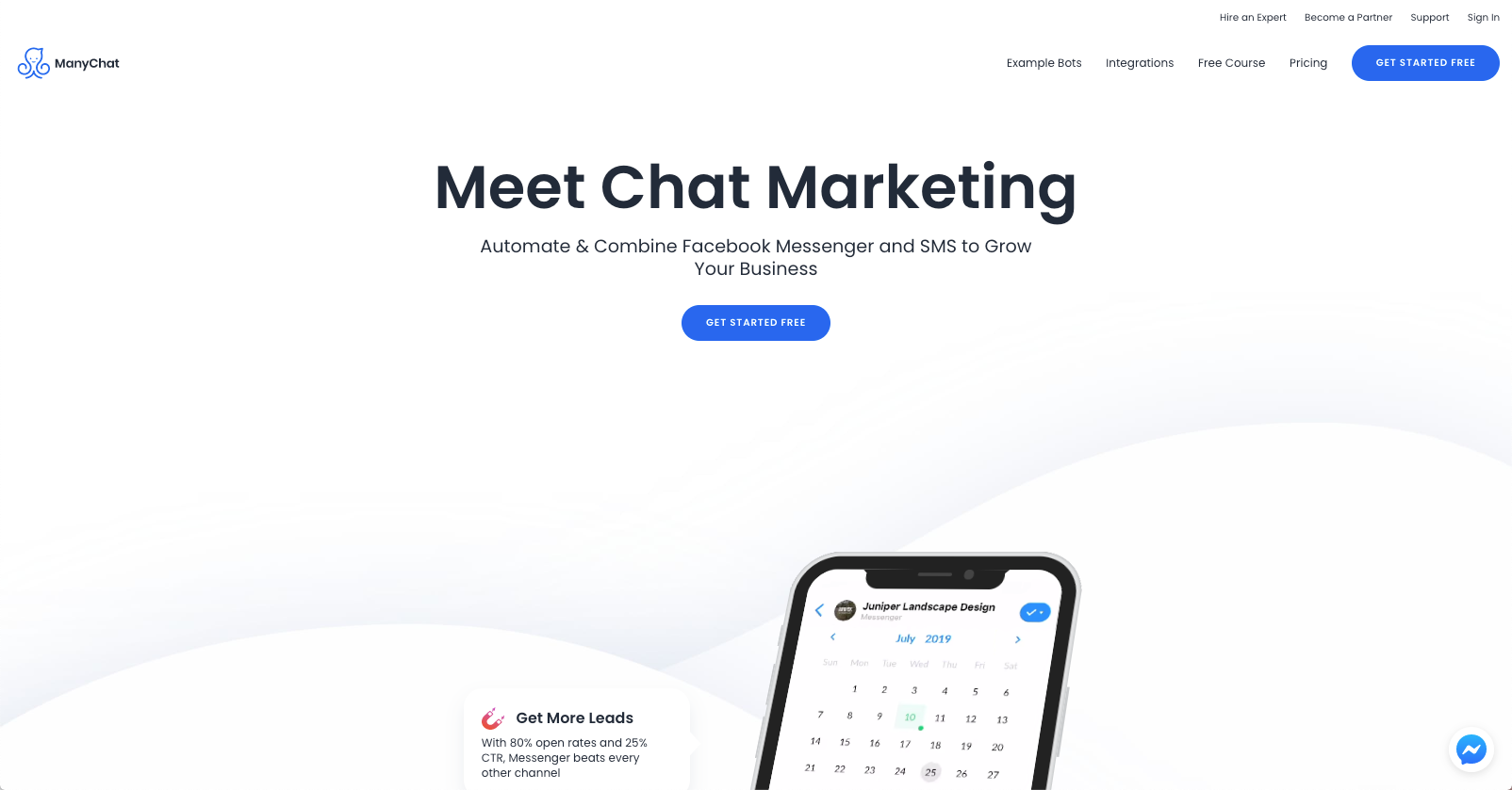 best ecommerce chatbot tools - ManyChat
