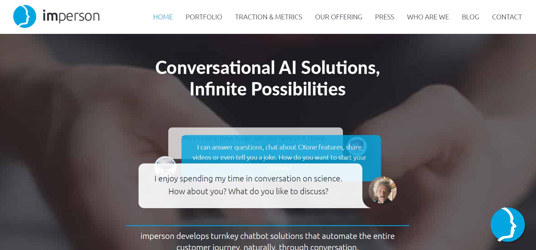best enterprise chat software - Imperson