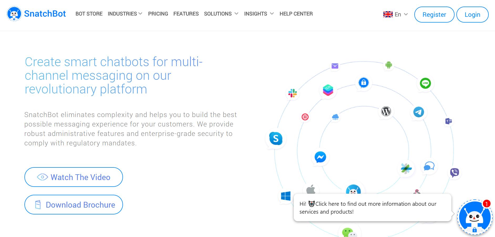 best SMS marketing services - Snatchbot