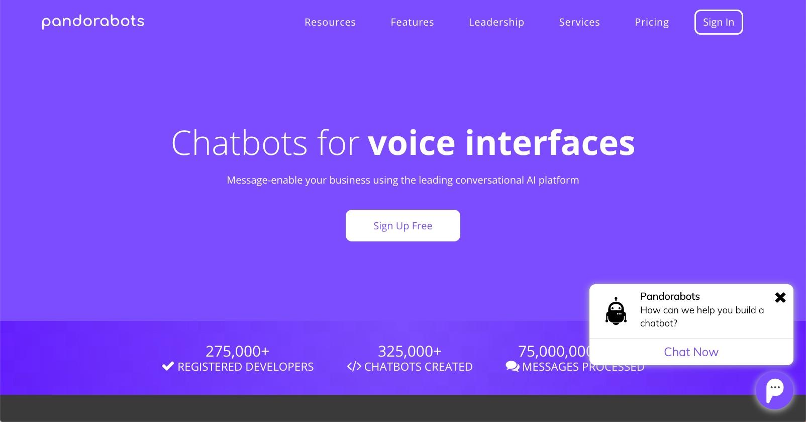 Pandorabots - Best Web Chat Apps