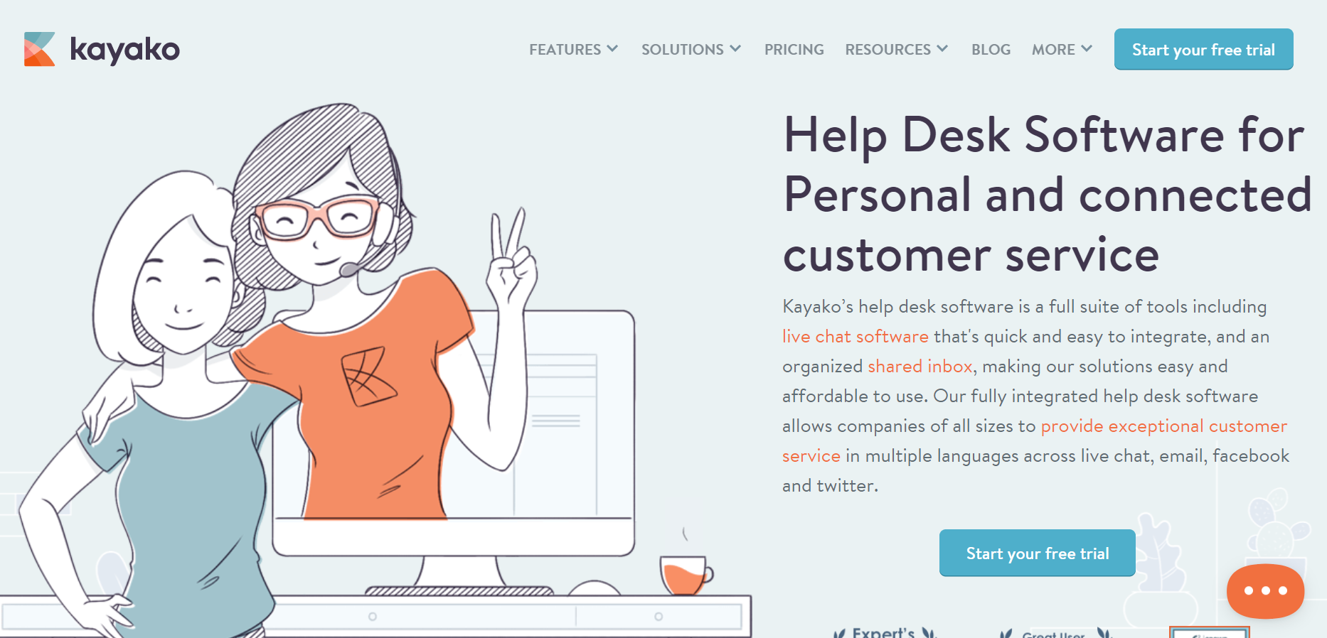Kayako - Best Web Chat Apps