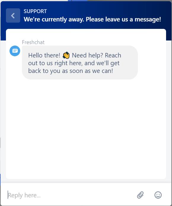 Freshchat Review - Chat Widget