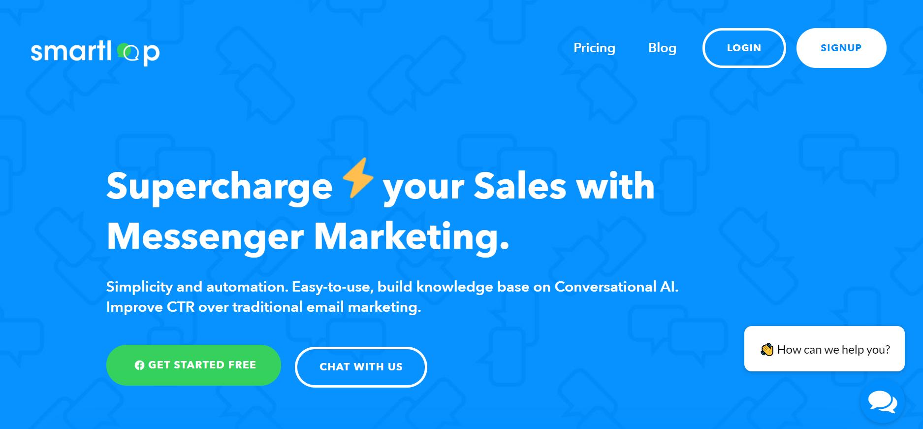 sales chatbot - SmartLoop