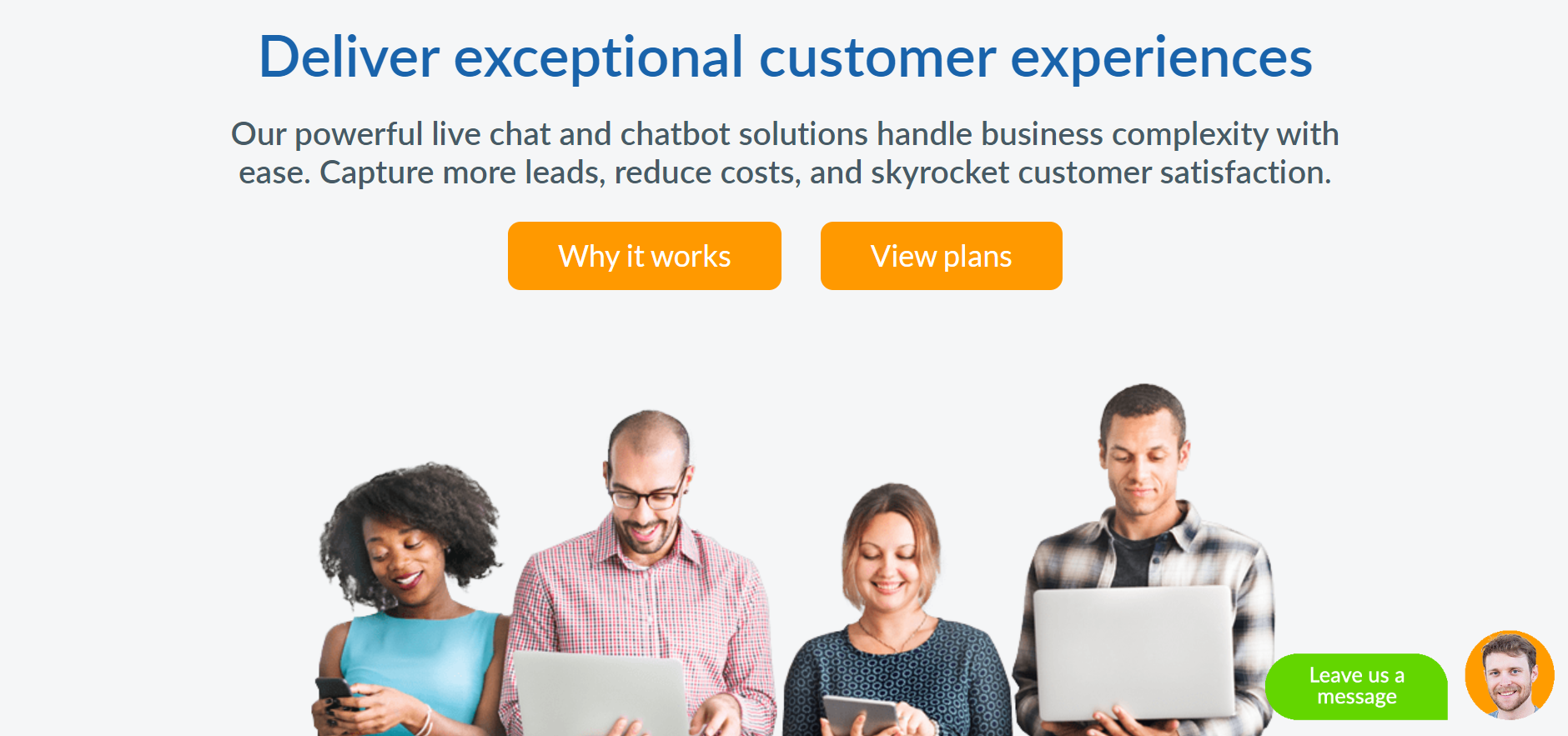 best customer service chatbot - SnapEngage