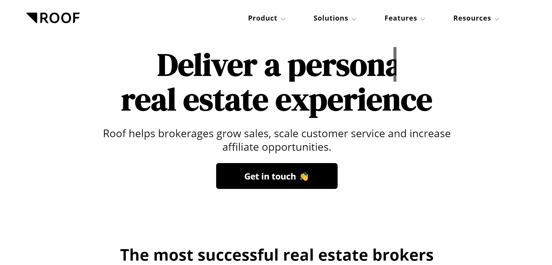 best real estate chatbot tools - Roof.ai