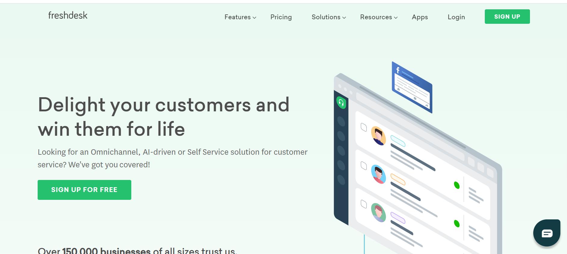 best customer service chatbot - Freshdesk