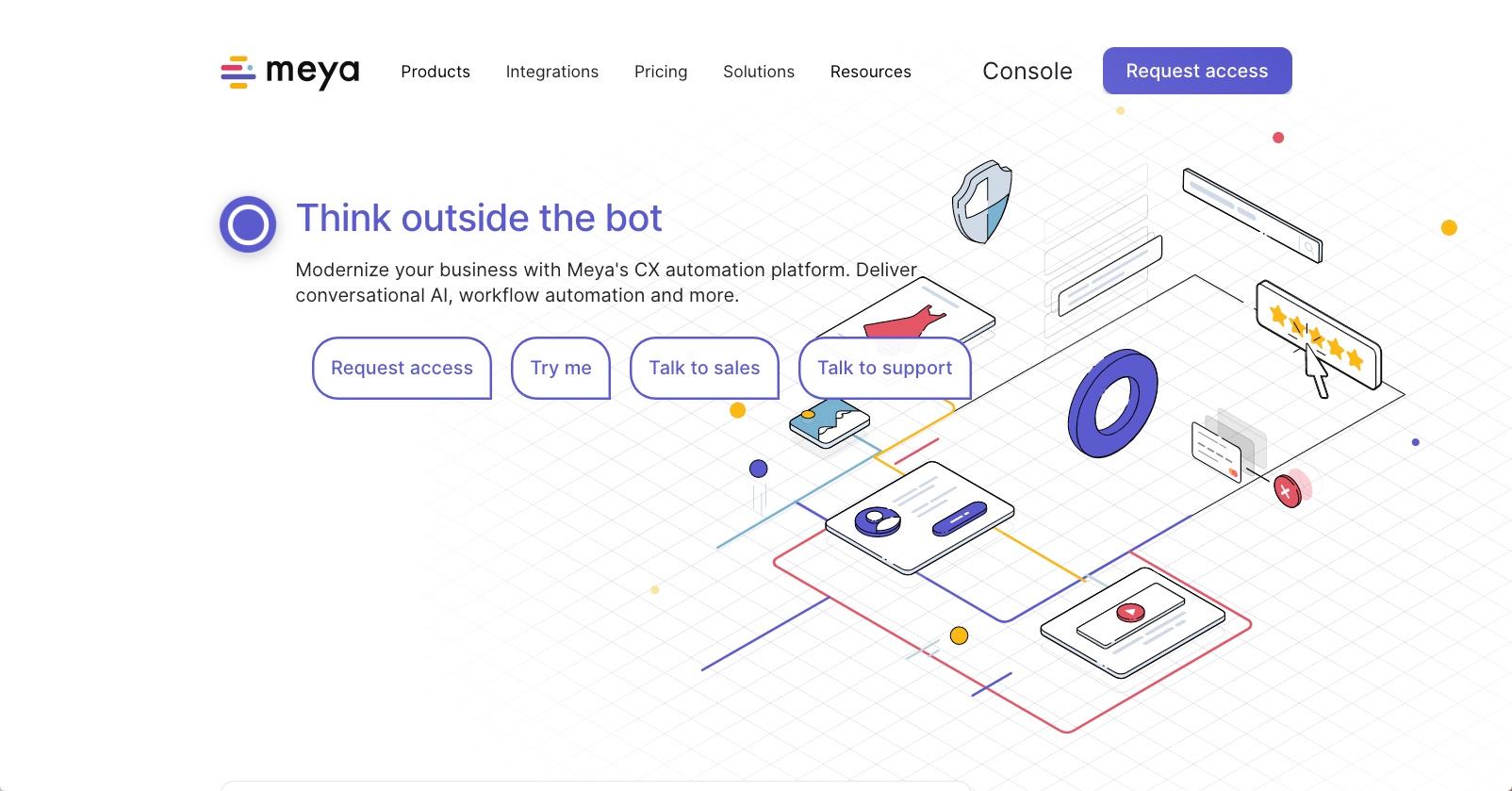 best enterprise chat software - Meya.ai