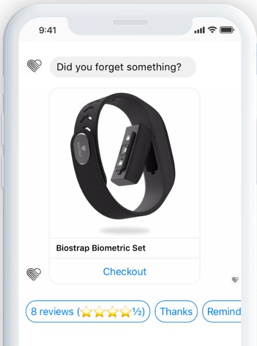 Octane AI review - Octane AI abandoned cart messaging